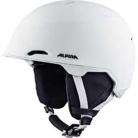 Alpina Maroi Casco da sci, pure-white matt